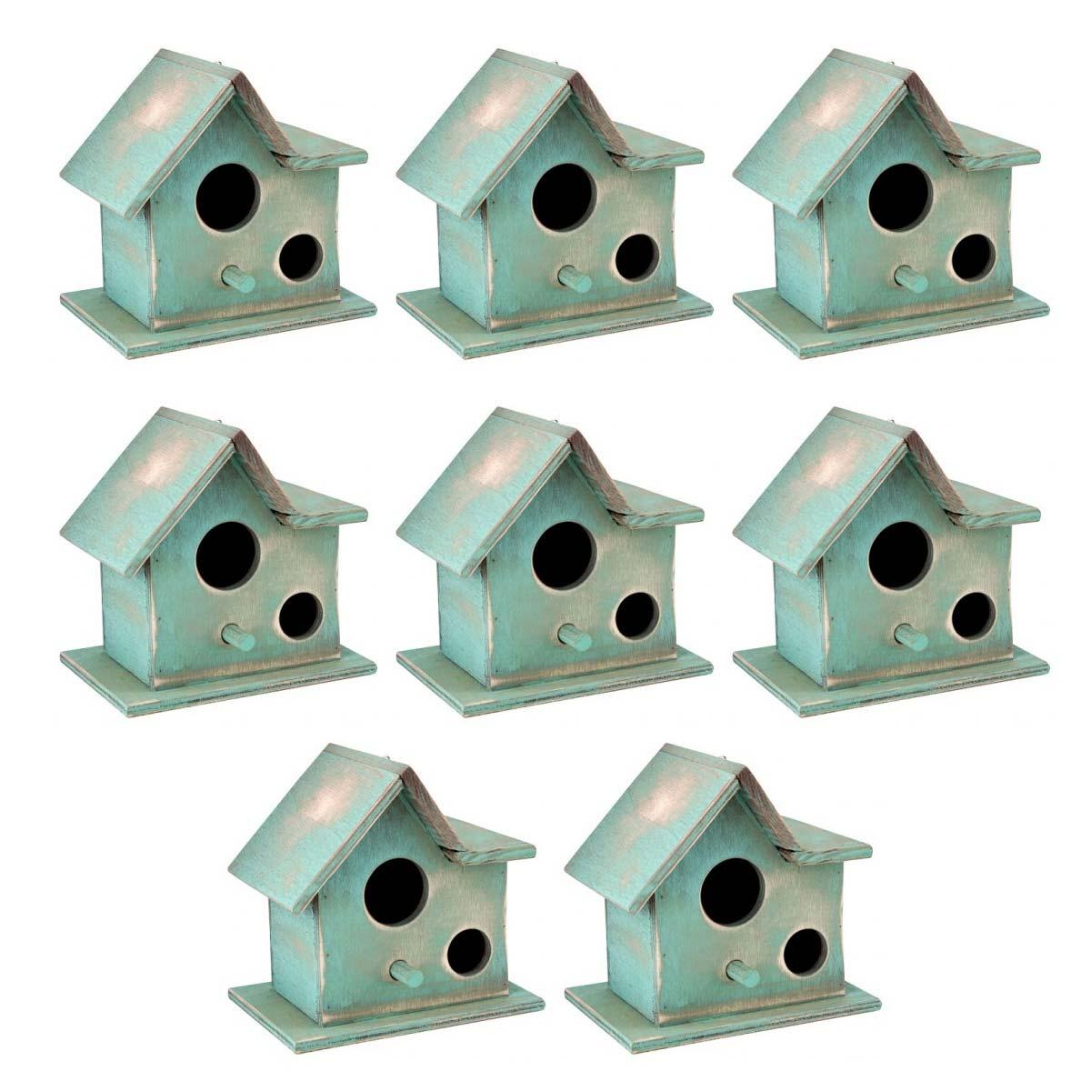 Lot de 3 Wild Garden Bird Boxes 2 x Sparrow /& 1 x Robin