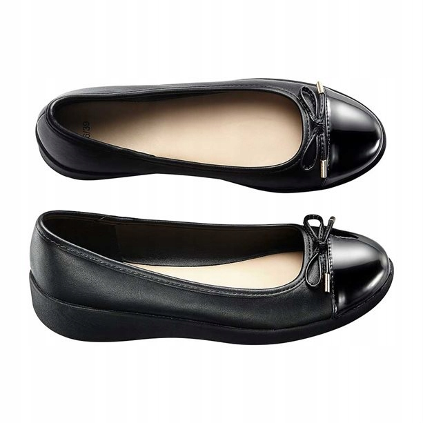 Ladies Women Dolly Ballerina Pumps Shoes Flat Slip On Great Quality