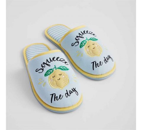 Avon Squeeze the Day Slippers