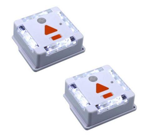 Pack of 2 - 12 LED Motion Sensor Light