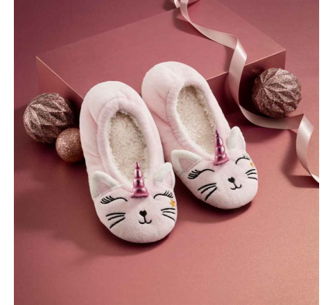 Avon Caticorn Kid's Slippers