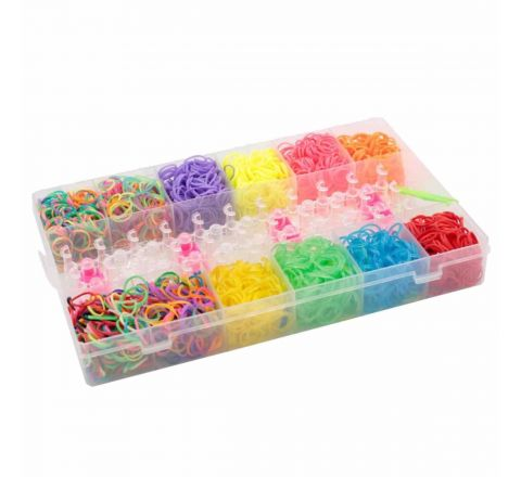 Bracelet Jewellery Maker Rainbow Rubber Loom Band