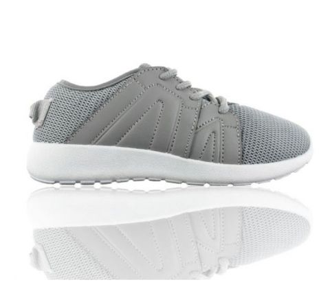 Buckle My Shoe Sports Trainers - Grey