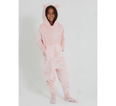 Ex Store Girls' Floppy Eared Bunny Robe