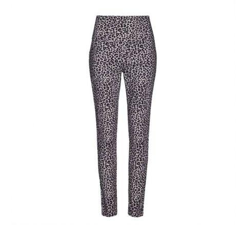 Avon Monochrome Leopard Print Jeggings
