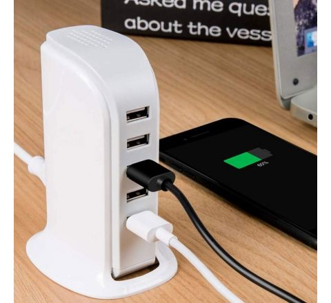 5 Port USB Charger