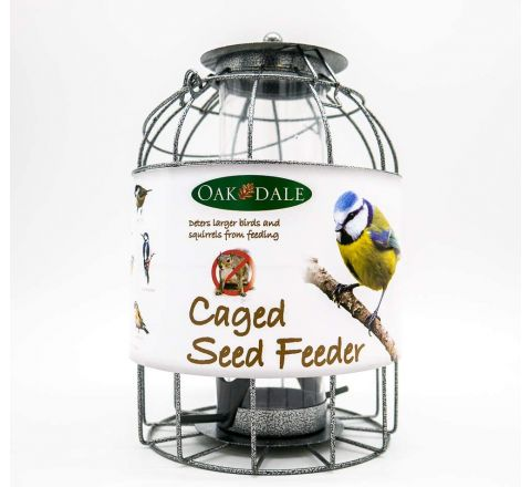 Oakdale Squirrel Resistant Caged Seed Feeder