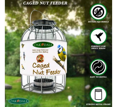 Oakdale Caged Nut Feeder