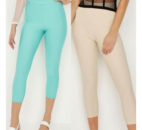 Avon Cropped Jeggings