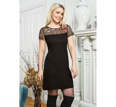 Avon Elethia Coveted Black Dress