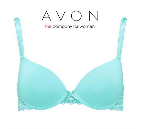 Avon Lana Lace Blue T-Shirt Bra