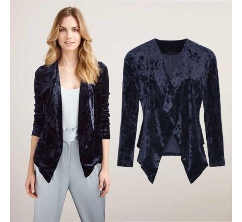Avon Velour Waterfall Jacket