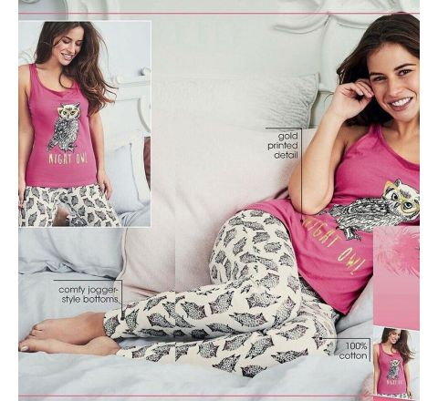 Avon Spectacled Owl Pyjamas Set