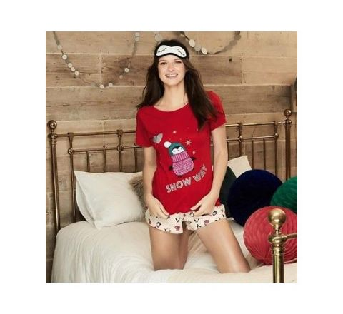 Avon 3 Piece Penguin Pyjamas Set