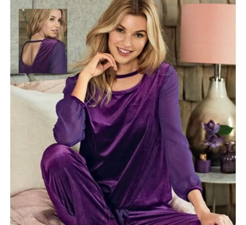 Avon Velour Loungewear Set