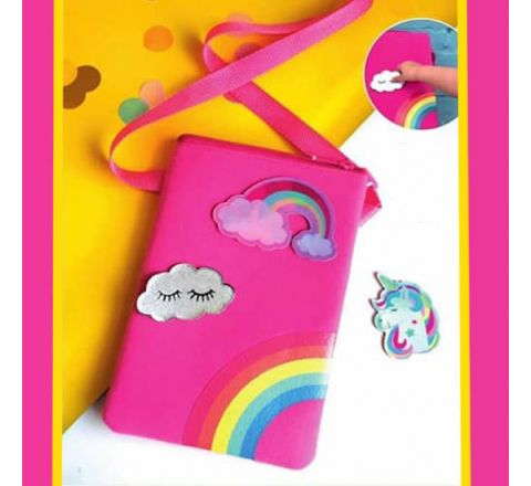 Avon Rainbow Badges Bag with 3 Detachable Badges