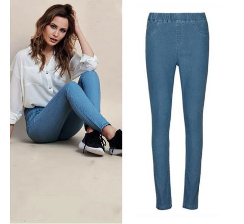Avon Basic Mid Blue Denim Jegging
