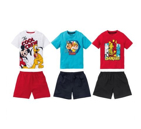 Boy's Character Shorts Pyjamas