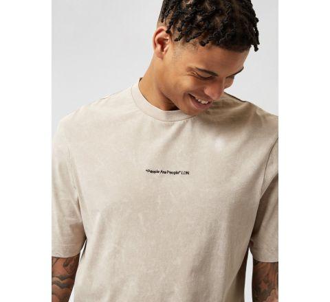 Ex Burton Menswear Washed T Shirt