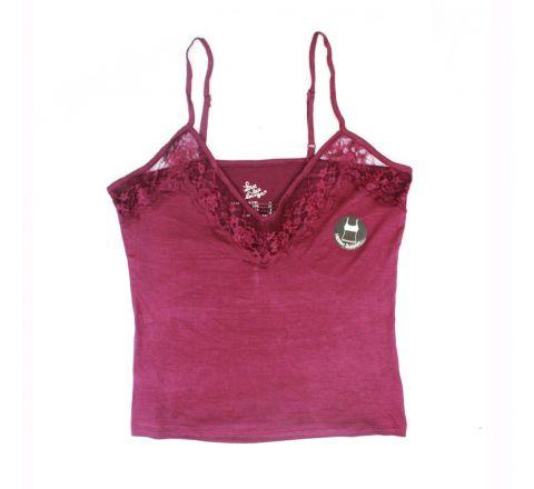 Womens Cami Vest Top Secret Hidden Support