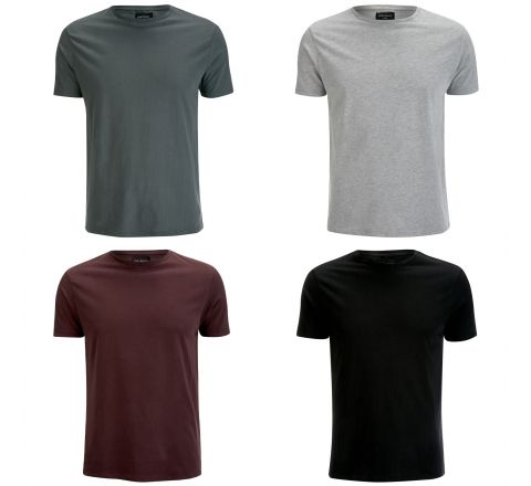 D-Struct Men's Premium Soft Touch Crew Neck T-Shirt