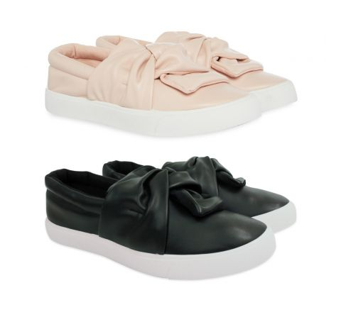 Primark Girls Bow Slip On Shoe
