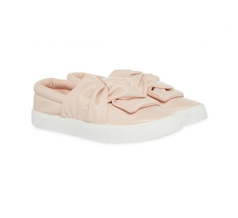 Primark Girls Bow Slip On Shoe-Pink-UK 9 Infant