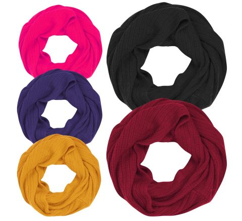 Snood Neck Warmer Scarf