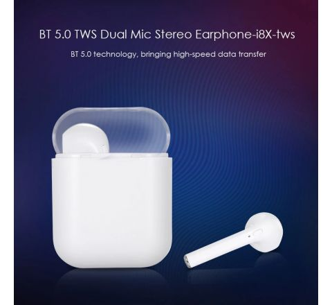 i8x TWS Wireless Earphones