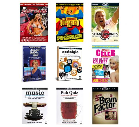 Interactive DVD Games | Sports, Cars, Music, Pub Quiz, Celeb, Super Hero