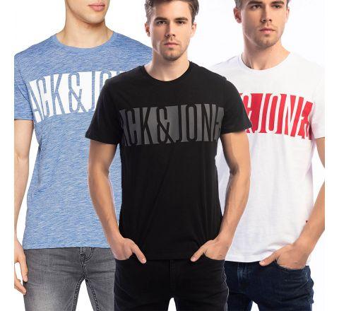 Jack & Jones Men's JCO Karl Crew Neck T-Shirt