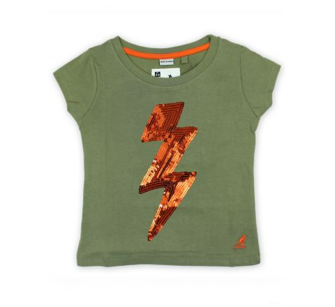 Kangol Girls Khaki T Shirt