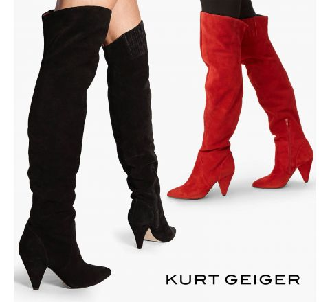 Kurt Geiger London Violet Over the Knee Boots