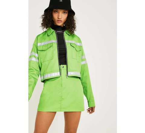 Urban Renewal Vintage Remnants High-Visibility Zest Jacket