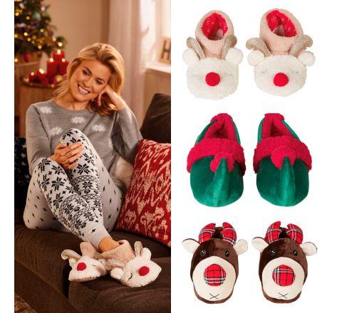 Women's Novelty Christmas Slippers