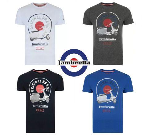 Lambretta Scooter Stand T Shirt