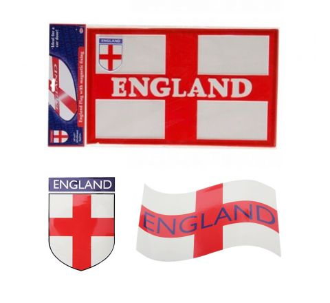 Magentic England Car Flag