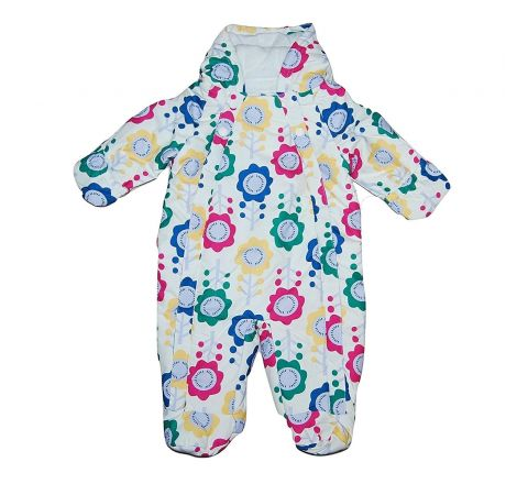 All in One Floral Snowsuit