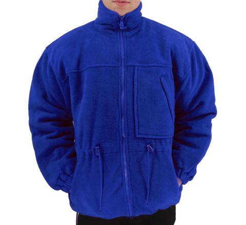 Fleece Jacket-Blue-S-Fleece Coat