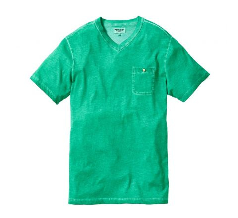 Label J Green V Neck T Shirt - Medium