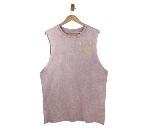 Ex Store Men's Plum Summer Vest
