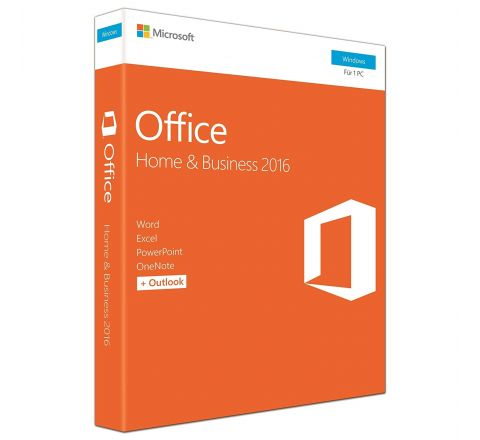 Microsoft Office Home and Business 2016 - Licence Key (PC)