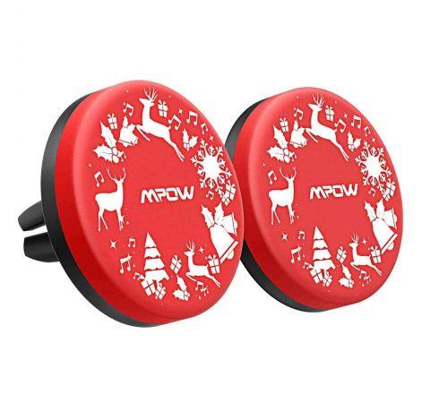 Christmas Themed Magnetic Car Phone Holder - Pack of 2