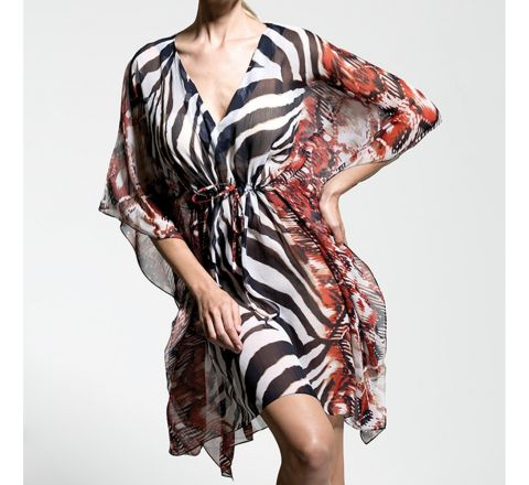 Pia Rossini Caramba Beach Cover Up - One Size