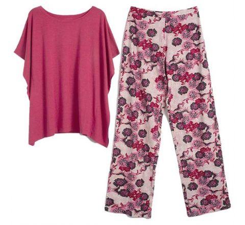 Avon Clara Oriental Flower Pyjamas Set