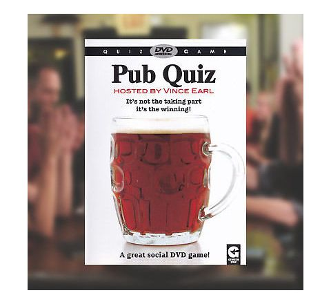 Pub Quiz Interactive DVD Game hosted by Vince Earl
