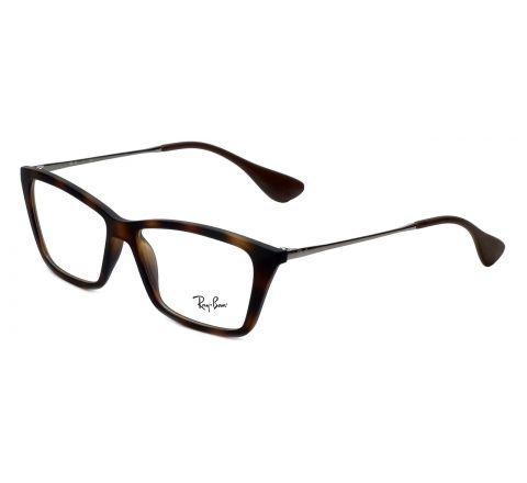 Ray-Ban Reading Glasses Shirley RB7022-5365 in Rubber-Havana 54mm