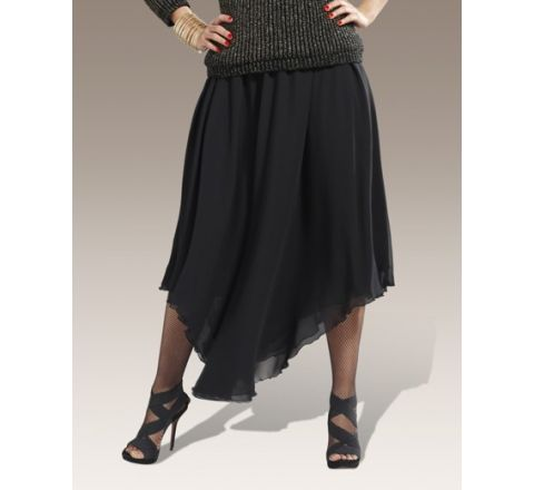 Roland Klein Shaped Hem Skirt
