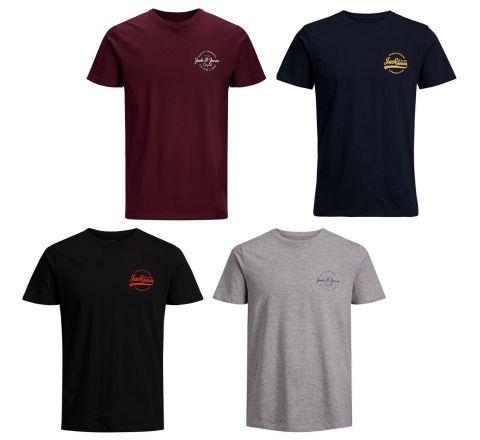 Jack & Jones Jorrafsmen Crew Neck T Shirt