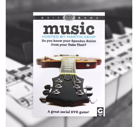 Quiz DVD Game MUSIC hosted by Martin Kemp